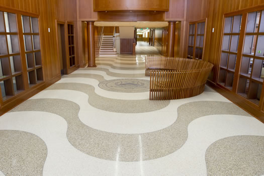Terrazzo - St. Timothy's School-Fowler House Addition & Renovation