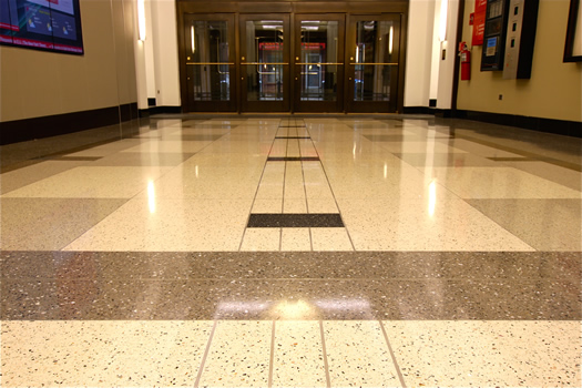 Terrazzo - Verizon Corporate Offices