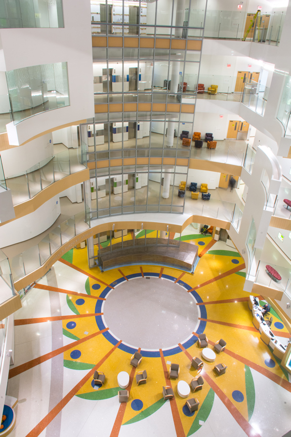 Terrazzo - Nemours - Alfred I. DuPont Hospital for Children