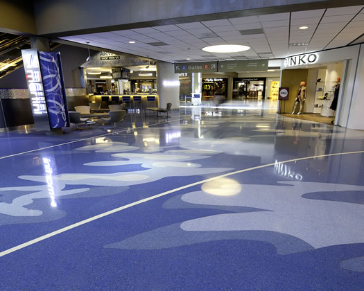 Terrazzo - Pittsburgh Airport Renovation